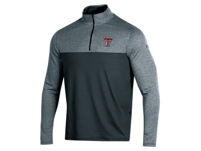 Texas Tech Red Raiders Under Armour NCAA Men's Scratch Mock Quarter Zip Pullover