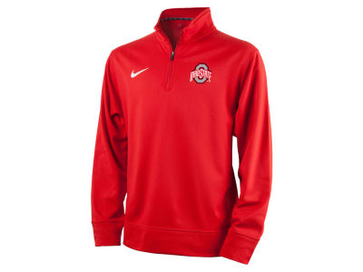 Ohio State Buckeyes Nike NCAA Youth Dri-Fit 1/4 Zip Pullover Shirt
