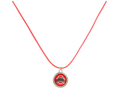 NCAA Draw String Logo Necklace