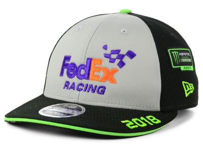 Denny Hamlin New Era 2018 NASCAR Monster Energy Cup Series Playoff 9FIFTY Snapback Cap