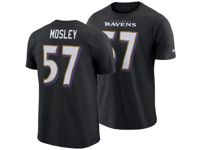 Baltimore Ravens C.J. Mosley Nike NFL Men's Pride Name and Number Wordmark T-shirt