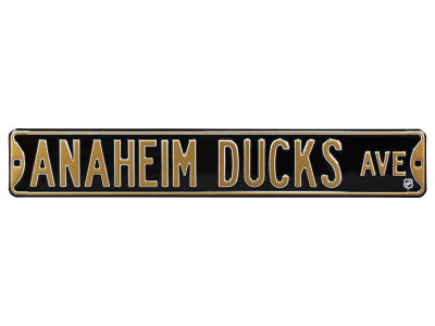 Anaheim Ducks Authentic Street Signs Avenue Street Sign