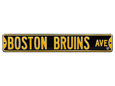 Boston Bruins Authentic Street Signs Avenue Street Sign
