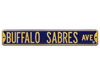 Buffalo Sabres Authentic Street Signs Avenue Street Sign