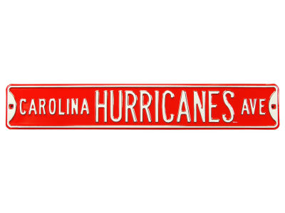 Carolina Hurricanes Authentic Street Signs Avenue Street Sign