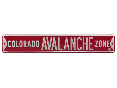 Colorado Avalanche Authentic Street Signs Avenue Street Sign