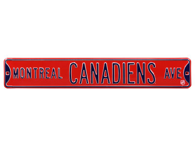 Montreal Canadiens Authentic Street Signs Avenue Street Sign