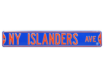 New York Islanders Authentic Street Signs Avenue Street Sign