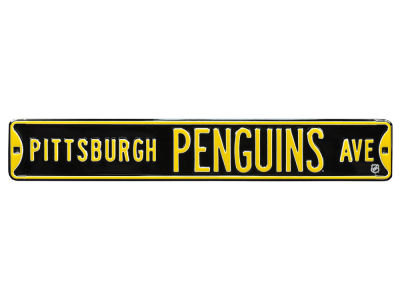 Pittsburgh Penguins Authentic Street Signs Avenue Street Sign