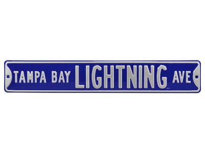 Tampa Bay Lightning Authentic Street Signs Avenue Street Sign