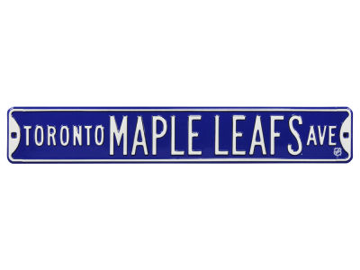 Toronto Maple Leafs Authentic Street Signs Avenue Street Sign