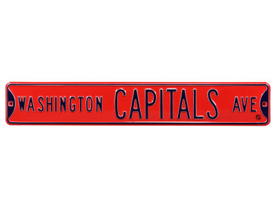 Washington Capitals Authentic Street Signs Avenue Street Sign