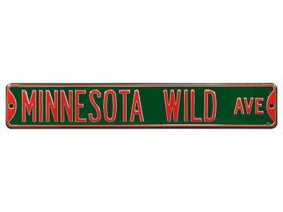 Minnesota Wild Authentic Street Signs Avenue Street Sign