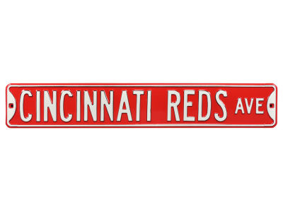 Cincinnati Reds Authentic Street Signs Avenue Street Sign