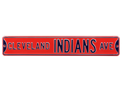 Cleveland Indians Authentic Street Signs Avenue Street Sign
