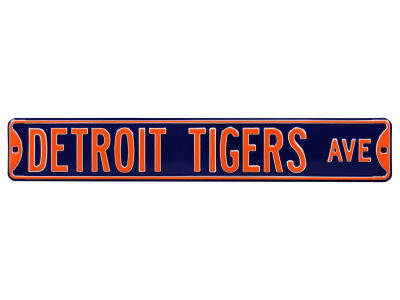 Detroit Tigers Authentic Street Signs Avenue Street Sign
