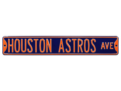 Houston Astros Authentic Street Signs Avenue Street Sign