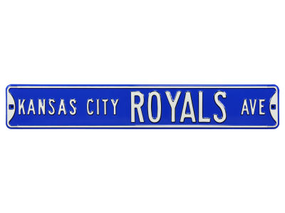 Kansas City Royals Authentic Street Signs Avenue Street Sign