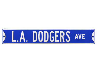Los Angeles Dodgers Authentic Street Signs Avenue Street Sign