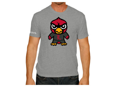 Louisville Cardinals Retro Brand NCAA Men's Tokyodachi T-Shirt