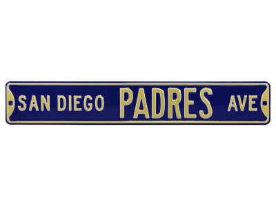 San Diego Padres Authentic Street Signs Avenue Street Sign