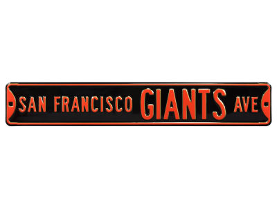 San Francisco Giants Authentic Street Signs Avenue Street Sign