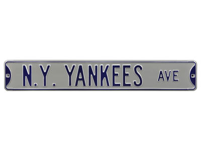 New York Yankees Authentic Street Signs Avenue Street Sign