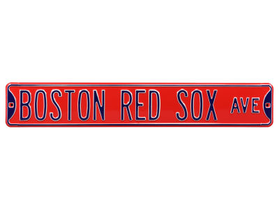 Boston Red Sox Authentic Street Signs Avenue Street Sign