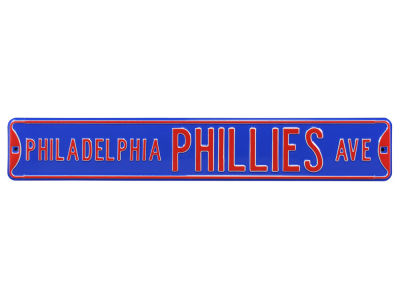 Philadelphia Phillies Authentic Street Signs Avenue Street Sign