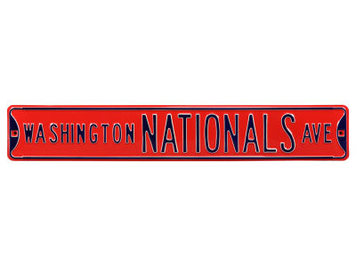 Washington Nationals Authentic Street Signs Avenue Street Sign
