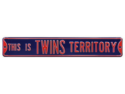 Minnesota Twins Authentic Street Signs Avenue Street Sign