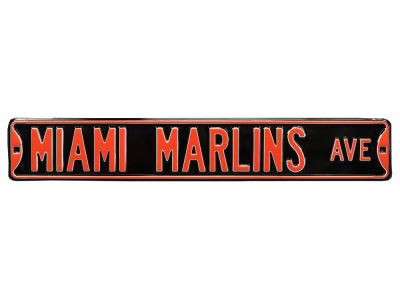 Miami Marlins Authentic Street Signs Avenue Street Sign
