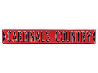 St. Louis Cardinals Authentic Street Signs Avenue Street Sign