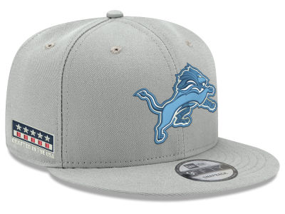 Detroit Lions New Era NFL Crafted in the USA 9FIFTY Snapback Cap