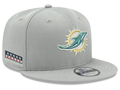 Miami Dolphins New Era NFL Crafted in the USA 9FIFTY Snapback Cap