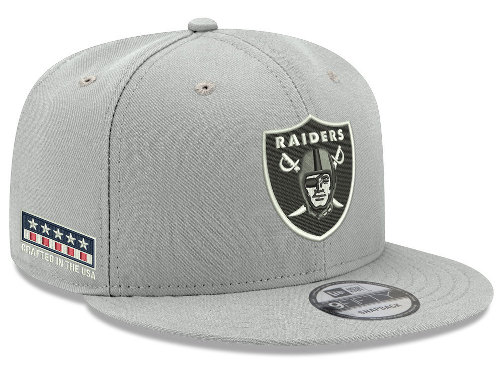 Oakland Raiders New Era NFL Crafted in the USA 9FIFTY Snapback Cap ... 053050b4a