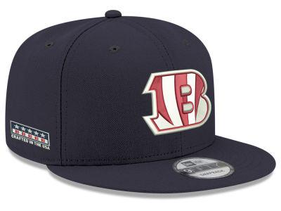 ab4e5efe73f Cincinnati Bengals New Era NFL Crafted in the USA 9FIFTY Snapback Cap