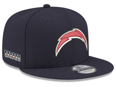 Los Angeles Chargers New Era NFL Crafted in the USA 9FIFTY Snapback Cap