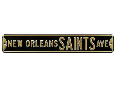 New Orleans Saints Authentic Street Signs Avenue Street Sign