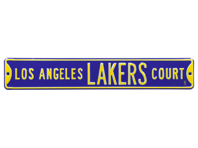 Los Angeles Lakers Authentic Street Signs Avenue Street Sign