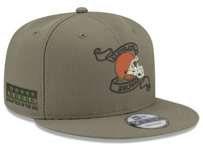 Cleveland Browns New Era NFL Crafted in the USA 9FIFTY Snapback Cap