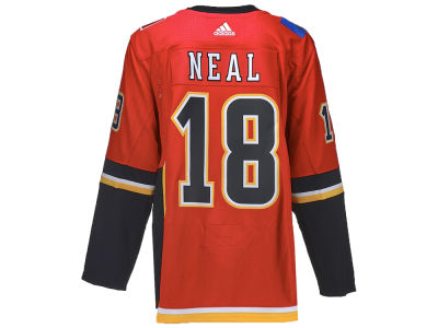 Calgary Flames James Neal adidas NHL Men's Authentic FanZone Player Jersey