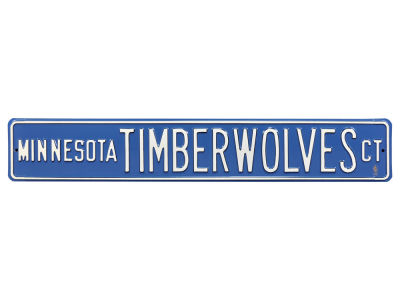 Minnesota Timberwolves Authentic Street Signs Avenue Street Sign