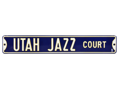 Utah Jazz Authentic Street Signs Avenue Street Sign