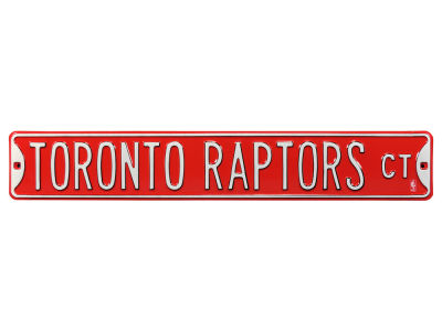 Toronto Raptors Authentic Street Signs Avenue Street Sign