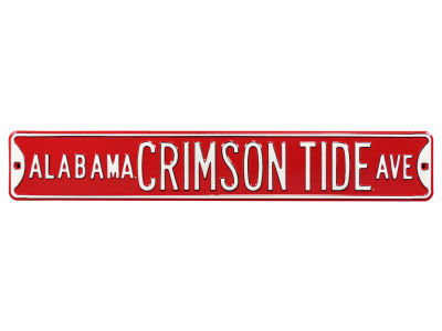 Alabama Crimson Tide Authentic Street Signs Avenue Street Sign