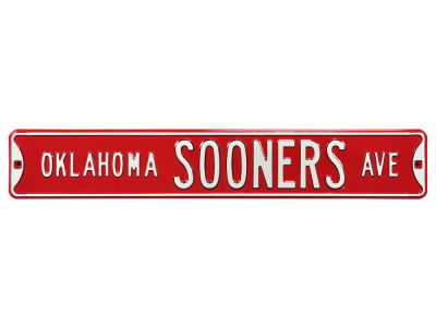 Oklahoma Sooners Authentic Street Signs Avenue Street Sign