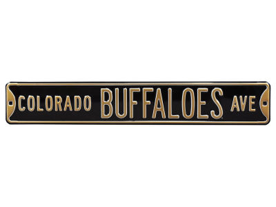 Colorado Buffaloes Authentic Street Signs Avenue Street Sign