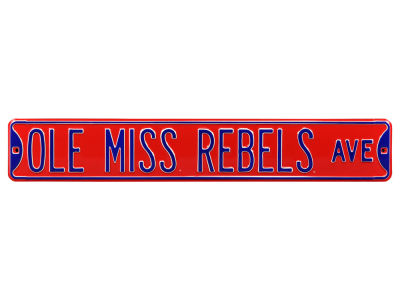 Ole Miss Rebels Authentic Street Signs Avenue Street Sign