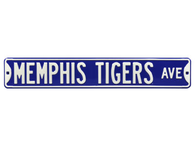Memphis Tigers Authentic Street Signs Avenue Street Sign